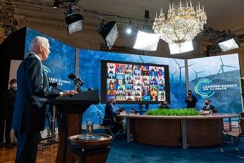 Hội nghị Thượng đỉnh về khí hậu: Tổng thống Mỹ và lãnh đạo các nước cam kết hợp tác mặc dù còn tồn tại nhiều khác biệt