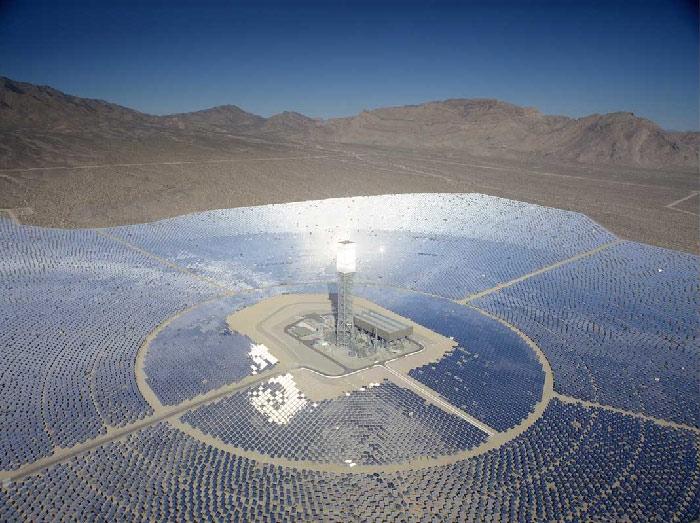 Nhà máy điện mặt trời  Ivanpah của  Mỹ