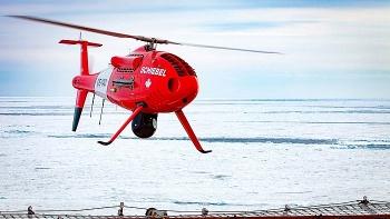 Na Uy: sử dụng máy bay không người lái trong vận tải thiết bị phục vụ giàn khai thác khí