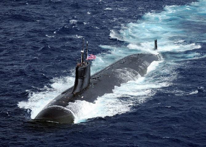Tàu ngầm hạt nhân Mỹ USS Connecticut lớp Sea Wolf (SSN 22). (Nguồn: US Navy)