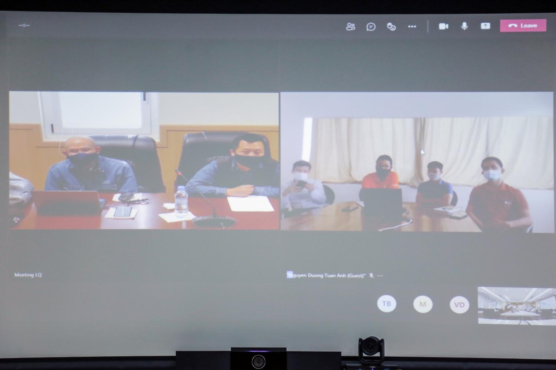 Lãnh đạo CĐ DKVN và PVEP thăm hỏi, động viên cán bộ biệt phái tại Algeria