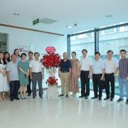 Chủ tịch HĐTV Petrovietnam chúc mừng Công ty CP Truyền thông Năng lượng Việt và Thời Mới
