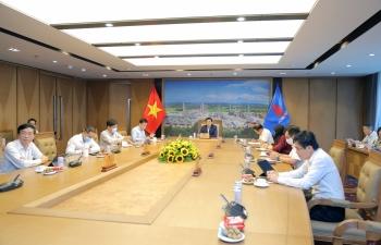 Petrovietnam tăng cường hợp tác với Zarubezhneft