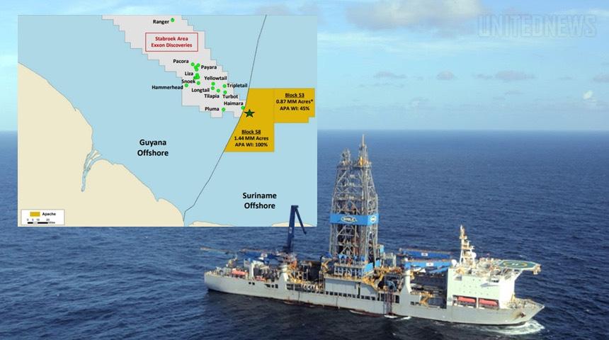Total và Apache Corporation tuyên bố phát hiện trữ lượng dầu khí mới ngoài khơi Suriname