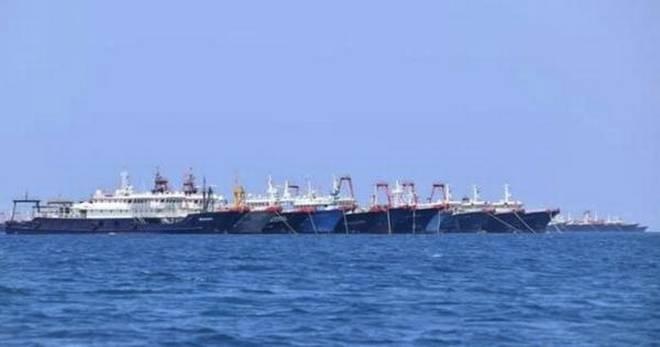 Philippines: 220 tàu dân quân của Trung Quốc hiện diện ở Biển Đông là hành động khiêu khích