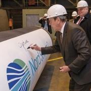 Đường ống EUGAL đã hoàn thành nhưng North Stream 2 tiếp tục bị chống phá