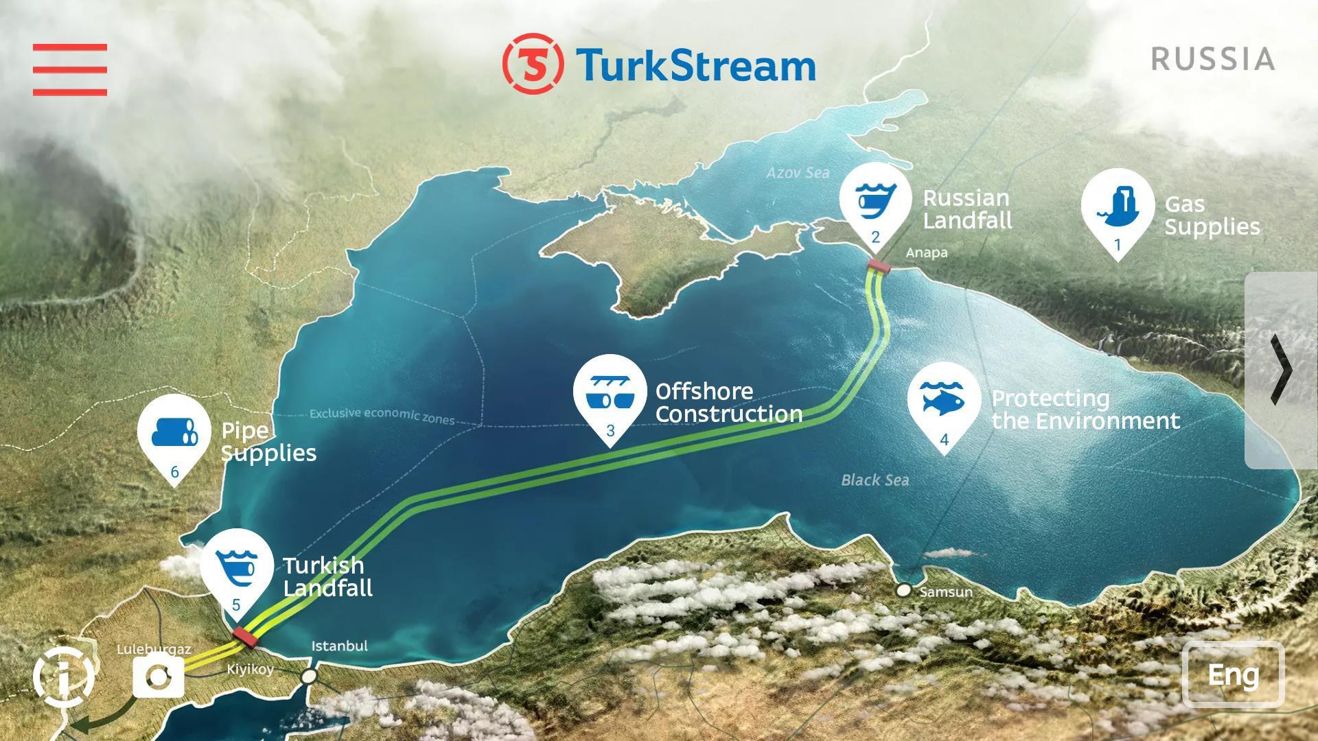 Turkstream chậm tiến độ