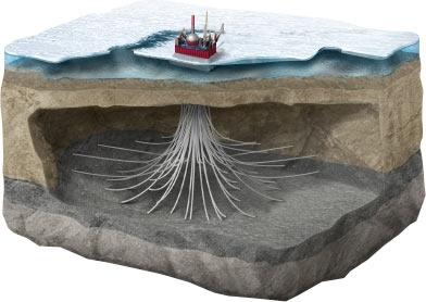 Sản lượng dầu khai thác ở Bắc Cực là bao nhiêu