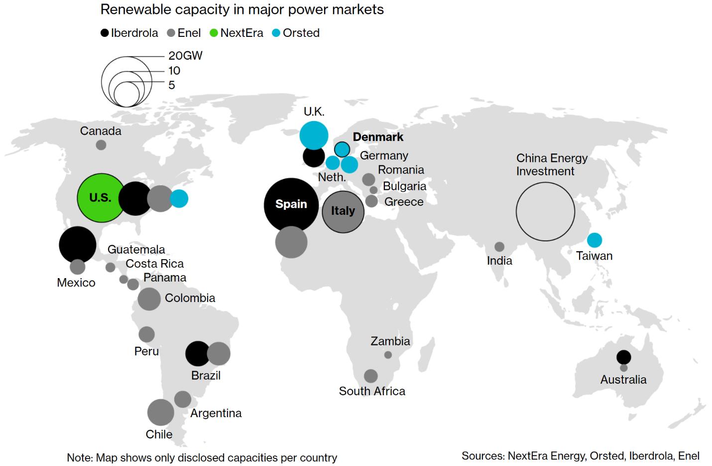 Trung Quốc nằm trong top 5 công ty năng lượng xanh hàng đầu thế giới