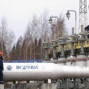 Dầu Urals qua đường ống Druzhba giảm