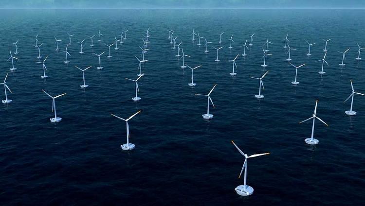 Hàn Quốc xây dựng trang trại điện gió ngoài khơi lớn nhất thế giới