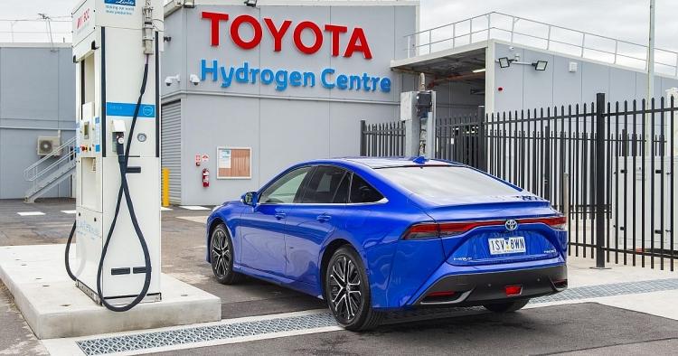 Chevron và Toyota thành lập liên minh phát triển công nghệ hydro