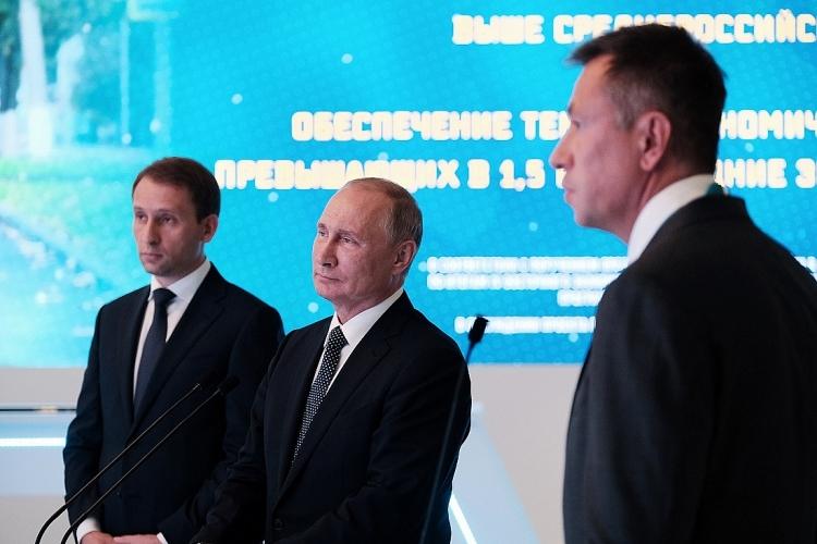 Ông Putin khánh thành nhà máy xử lý khí đốt lớn nhất thế giới gần Trung Quốc