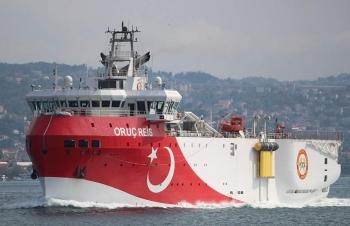 """Thổ Nhĩ Kỳ """"nhẫn nhịn"""", rút tàu khỏi khu vực tranh chấp Địa Trung Hải"""