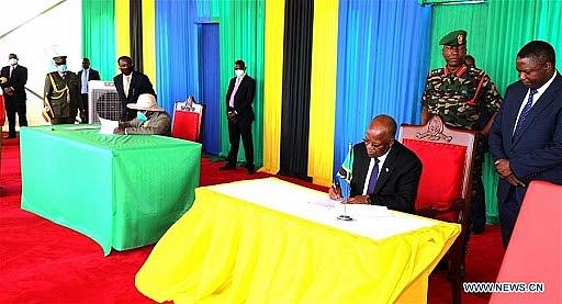 tanzania va uganda ky thoa thuan xay dung duong ong dan dau