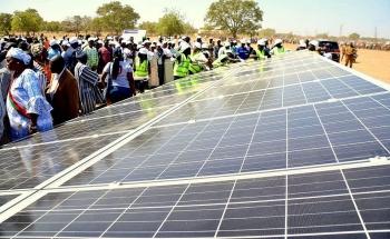 Khánh thành nhà máy sản xuất pin mặt trời đầu tiên ở Tây Phi