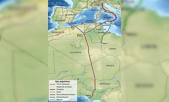 Nigeria bắt đầu xây dựng đường ống vận chuyển khí đốt đến Algeria