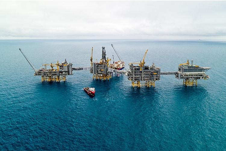 Na Uy bắt đầu sản xuất dầu ở mỏ khổng lồ Johan Sverdrup