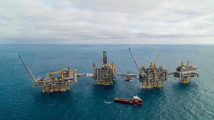 Cận cảnh mỏ dầu lớn nhất trên thềm lục địa Na Uy