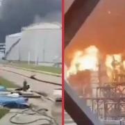 Cháy nhà máy lọc dầu lớn nhất ở Kuwait