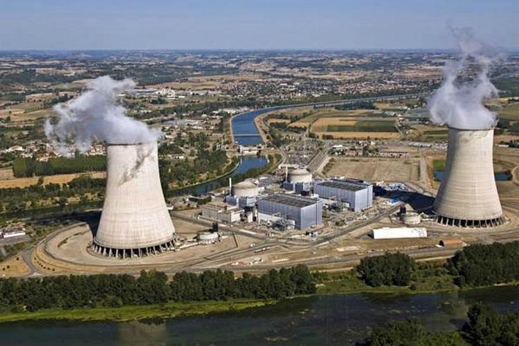 EDF dừng nhà máy điện hạt nhân do bị sự cố