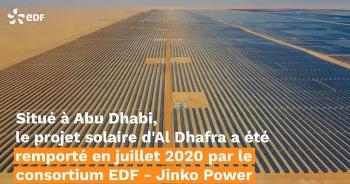 EDF xây dựng trang trại điện mặt trời lớn nhất thế giới ở Abu Dhabi