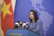 Bộ Ngoại giao: Việc Trung Quốc tập trận ở đảo Tri Tôn là vi phạm chủ quyền Việt Nam
