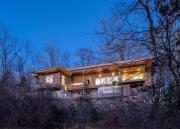 """Căn nhà """"năng lượng bằng không"""" ẩn mình giữa rừng"""