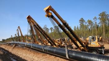 Gazprom tăng cường cung cấp khí đốt tự nhiên sang Trung Quốc