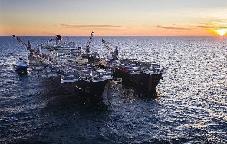 Gazprom và các đối tác đã tài trợ toàn bộ tiền để thi công Nord Stream 2