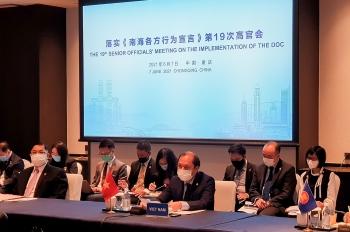 Hội nghị Quan chức cao cấp ASEAN-Trung Quốc về thực hiện DOC lần thứ 19