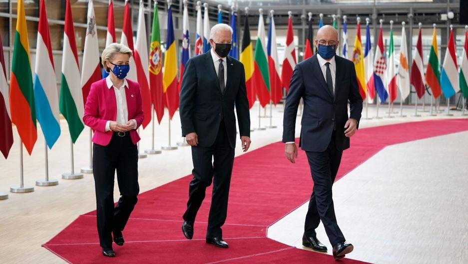 """Thượng đỉnh EU-Mỹ: Mở ra chương mới, xử lý tranh chấp và hợp tác trước """"mối đe dọa chung"""""""