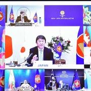 Hội nghị Bộ trưởng Ngoại giao ASEAN-Nhật Bản hợp tác chống đại dịch, an ninh khu vực và Biển Đông
