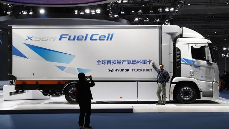 Hyundai muốn phát triển pin nhiên liệu hydro cho tất cả các mẫu xe thương mại vào năm 2028