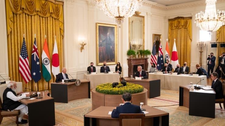 Thượng đỉnh Bộ Tứ cam kết thúc đẩy một khu vực Ấn Độ Dương - Thái Bình Dương tự do và rộng mở