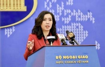 Việt Nam yêu cầu Trung Quốc chấm dứt xâm phạm, tôn trọng chủ quyền của Việt Nam