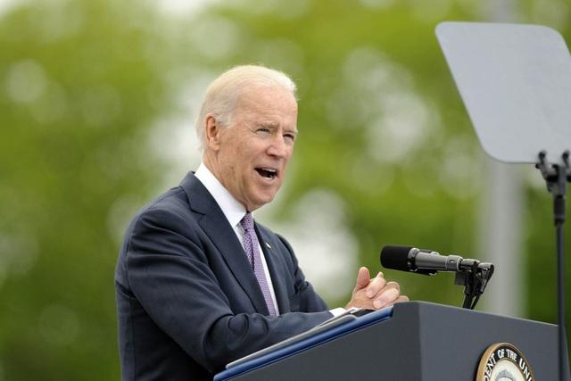 Ông Biden: Mỹ phải đảm bảo tự do hàng hải ở Biển Đông - 1
