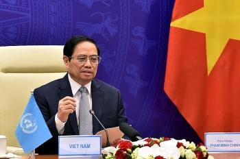 Thủ tướng Phạm Minh Chính nêu 3 đề xuất quan trọng để ứng phó hiệu quả với các thách thức an ninh biển