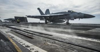 Nhóm tác chiến tàu sân bay Mỹ trở lại Biển Đông