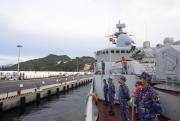 Biên đội Tàu 015, 016 cập Cảng Quốc tế Cam Ranh, kết thúc tốt đẹp nhiệm vụ đối ngoại quốc phòng tại Liên bang Nga