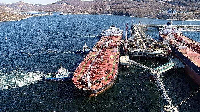 Nga gia tăng xuất khẩu dầu qua các cảng biển