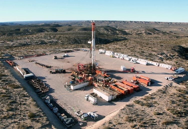 Mỏ khí đá phiến Vaca Muerta.