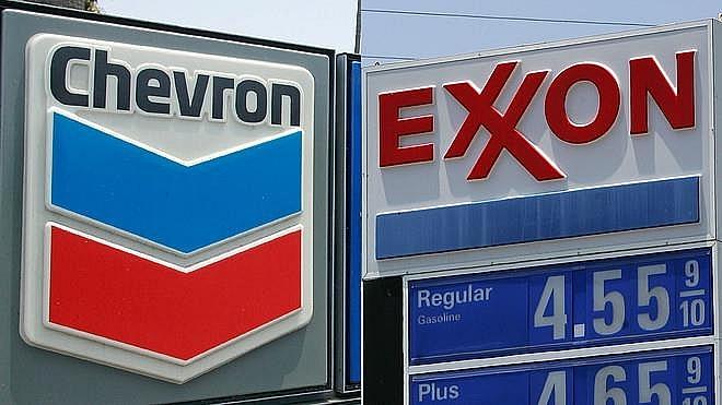 ExxonMobil và Chevron không tham gia thị trường năng lượng mặt trời và gió