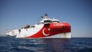 Tàu thăm dò Thổ Nhĩ Kỳ tiếp tục khảo sát địa chấn tại Đông Địa Trung Hải
