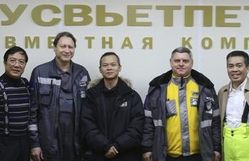 Liên doanh RUSVIETPETRO đạt mốc khai thác 30 triệu tấn dầu