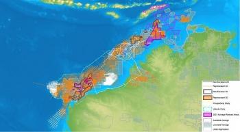 Các lô đấu thầu thăm dò dầu khí ngoài khơi 2021