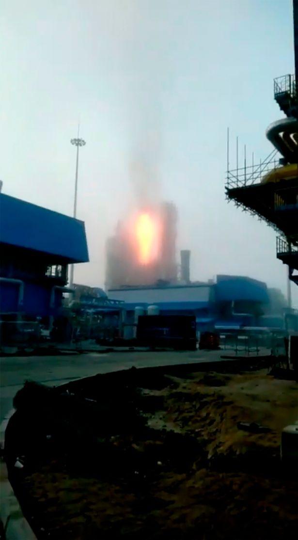 Thêm một tai nạn tại nhà máy xử lý khí đốt của Gazprom